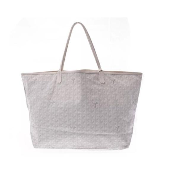 c8c319892939 Goyard Handbags - Goyard Saint Louis Gm White Coated Canvas Tote